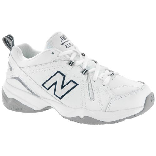 New Balance 608v4: New Balance Women's Training Shoes White/Blue