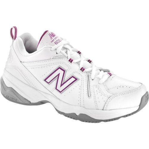 New Balance 608v4: New Balance Women's Training Shoes White/Pink