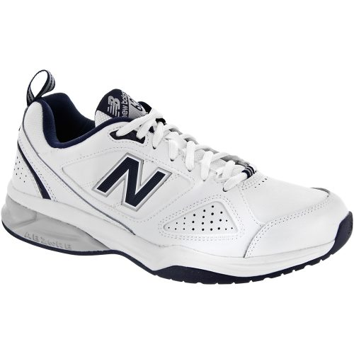 New Balance 623v3: New Balance Men's Training Shoes White/Navy