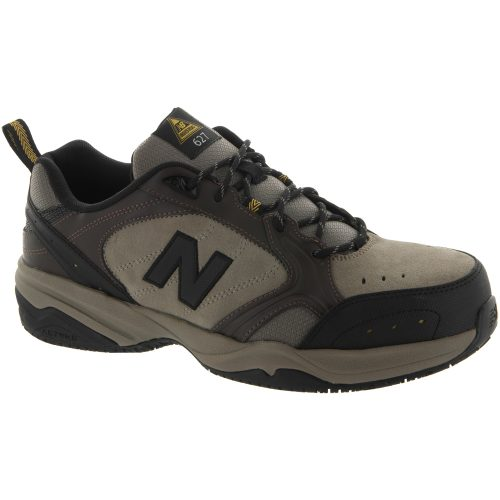 New Balance 627 Steel Toe Cap: New Balance Men's Training Shoes Brown