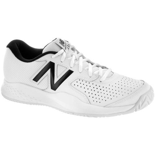 New Balance 696v3: New Balance Men's Tennis Shoes White/White