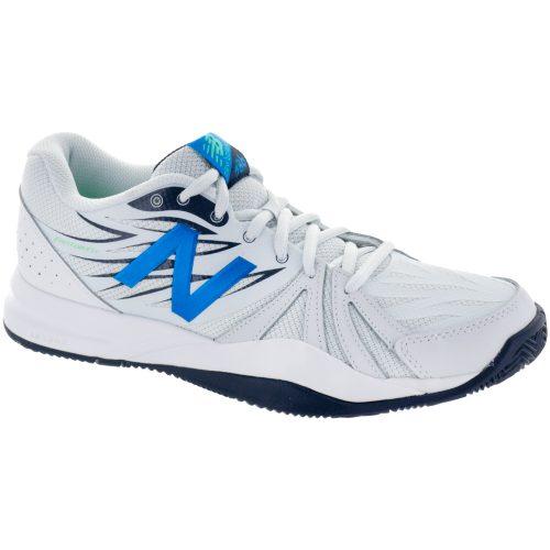 New Balance 786v2: New Balance Men's Tennis Shoes Artic Fox/Electric Blue