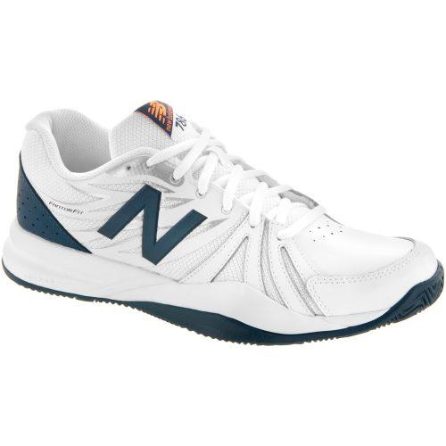 New Balance 786v2: New Balance Men's Tennis Shoes White/Blue