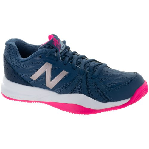 New Balance 786v2: New Balance Women's Tennis Shoes Vintage Indigo/Alpha Pink