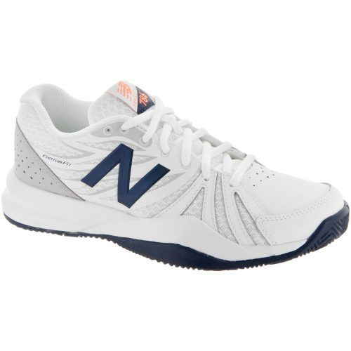 New Balance 786v2: New Balance Women's Tennis Shoes White/Blue