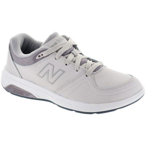 New Balance 813: New Balance Women's Walking Shoes Off White/Light Gray/Lead