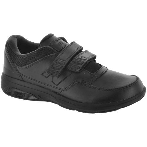 New Balance 813 Velcro: New Balance Men's Walking Shoes Black