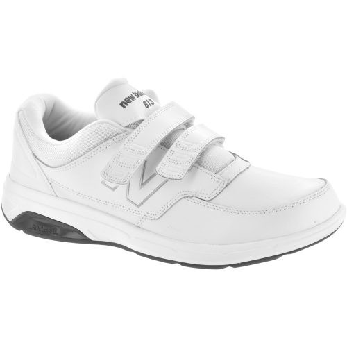 New Balance 813 Velcro: New Balance Men's Walking Shoes White
