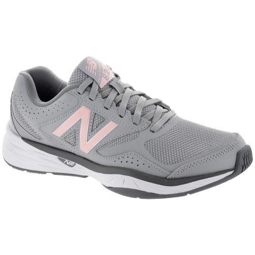 New Balance 824: New Balance Women's Training Shoes Gray/Guava