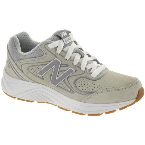 New Balance 840 v2: New Balance Women's Walking Shoes Gray/Gray/White