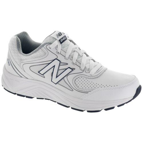 New Balance 840v2: New Balance Men's Walking Shoes White/Navy/Gray