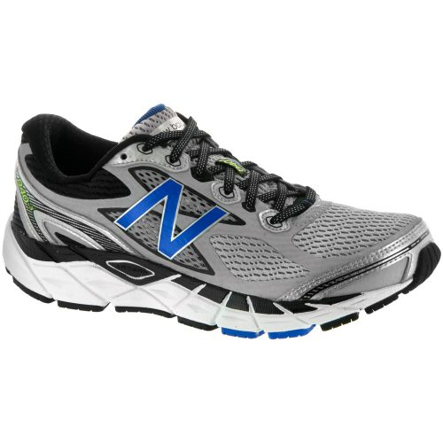New Balance 840v3: New Balance Men's Running Shoes Silver/Blue