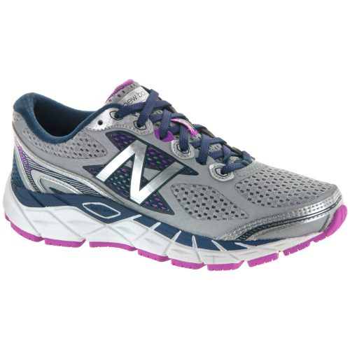 New Balance 840v3: New Balance Women's Running Shoes White/Purple