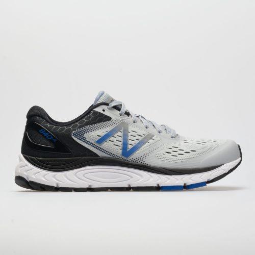 New Balance 840v4: New Balance Men's Running Shoes Silver Mink/Team Blue