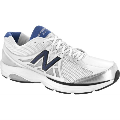 New Balance 847v2: New Balance Men's Walking Shoes White