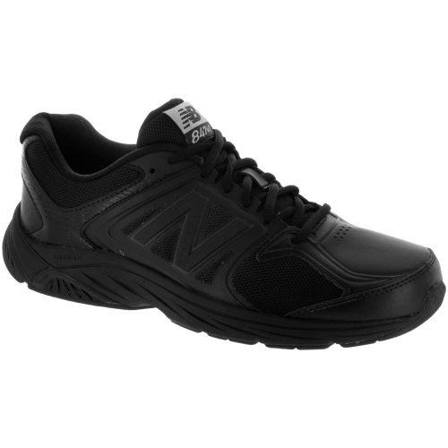 New Balance 847v3: New Balance Men's Walking Shoes Black/Black