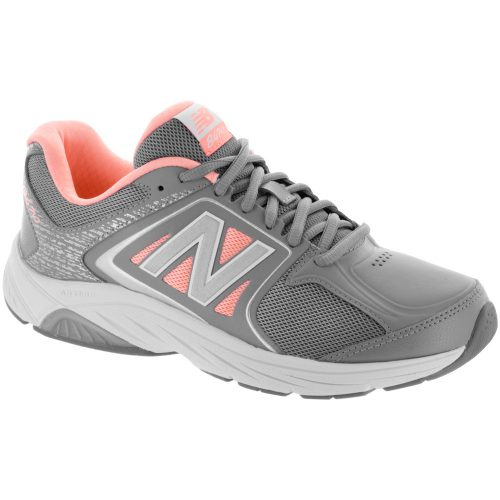 New Balance 847v3: New Balance Women's Walking Shoes Grey/Pink