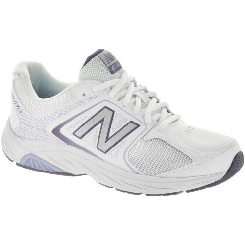 New Balance 847v3: New Balance Women's Walking Shoes White/Grey