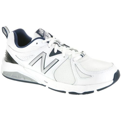 New Balance 857v2: New Balance Men's Training Shoes White/Navy