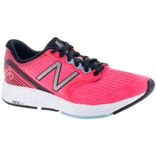 New Balance 890v6: New Balance Women's Running Shoes Vivid Coral/Black/Clear Sky
