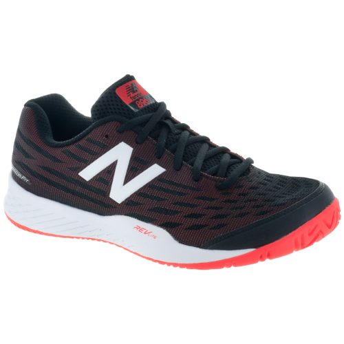 New Balance 896v2: New Balance Men's Tennis Shoes Black/Flame