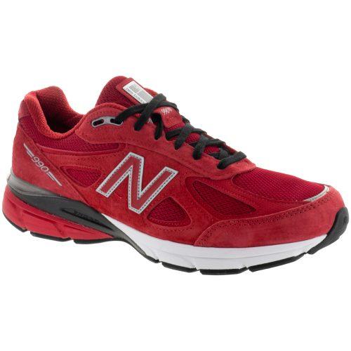 New Balance 990v4: New Balance Men's Running Shoes Alpha Red/Black