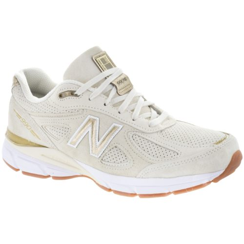 New Balance 990v4: New Balance Men's Running Shoes Angora