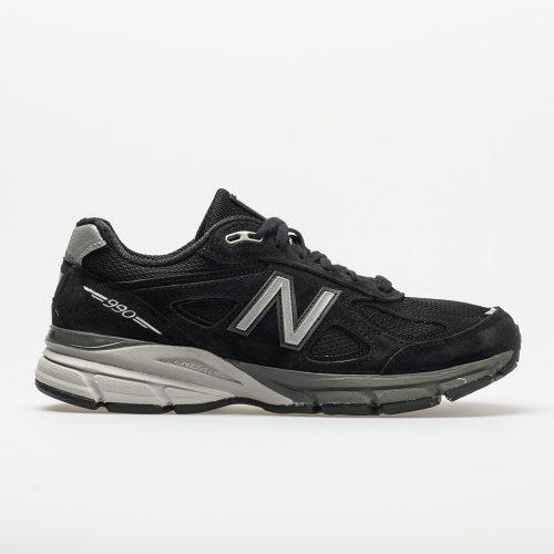 New Balance 990v4: New Balance Men's Running Shoes Black/Silver
