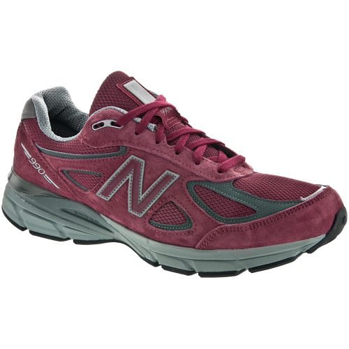 New Balance 990v4: New Balance Men's Running Shoes Burgandy