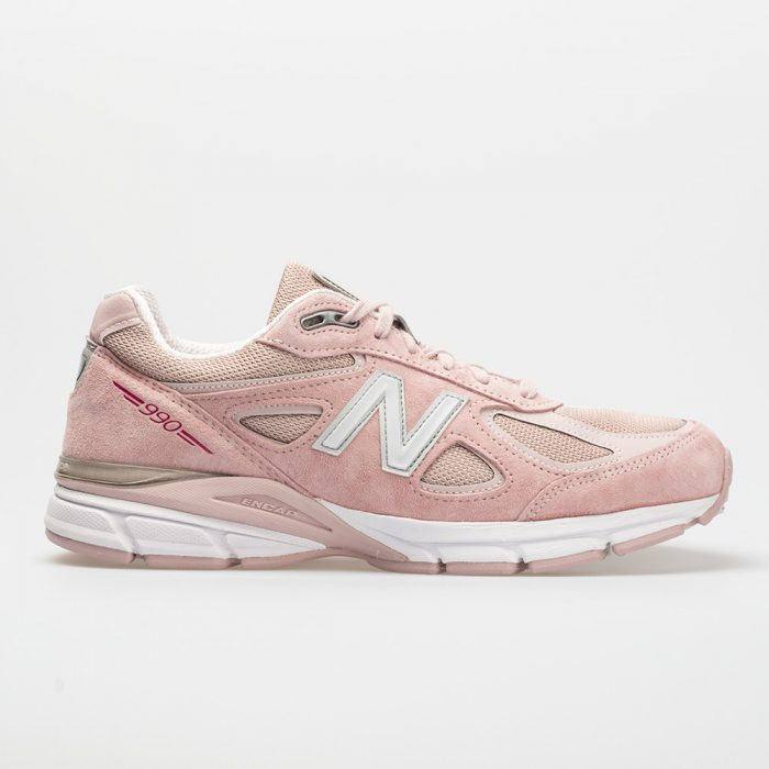 New Balance 990v4: New Balance Men's Running Shoes Faded Rose/Pink
