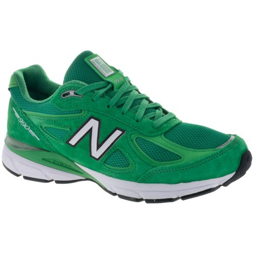 New Balance 990v4: New Balance Men's Running Shoes New Green/Vivid Cactus