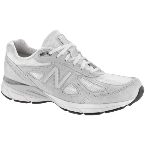 New Balance 990v4: New Balance Men's Running Shoes Nimbus Cloud/White