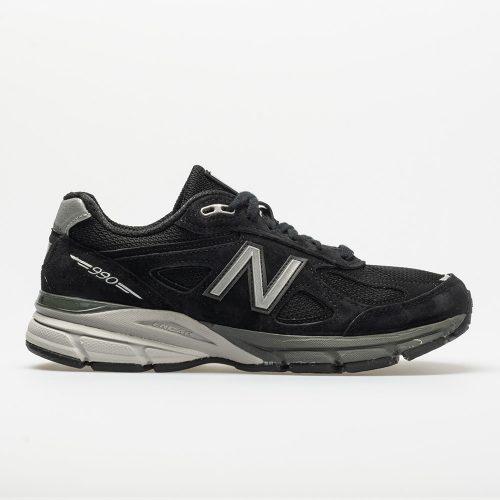 New Balance 990v4: New Balance Women's Running Shoes Black/Silver