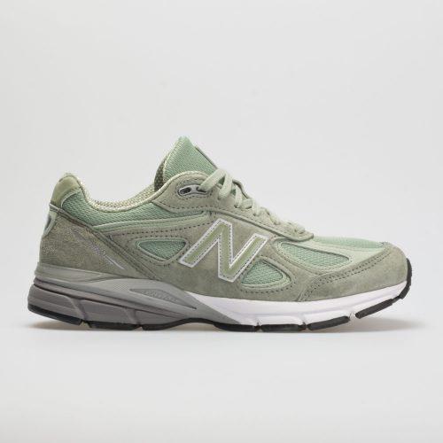 New Balance 990v4: New Balance Women's Running Shoes Silver/Mint