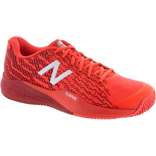 New Balance 996v3 Clay: New Balance Men's Tennis Shoes Flame/Red