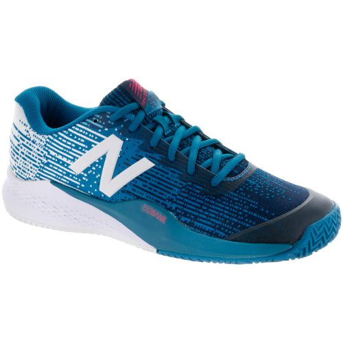New Balance 996v3 Clay: New Balance Men's Tennis Shoes Lake Blue/Pigment