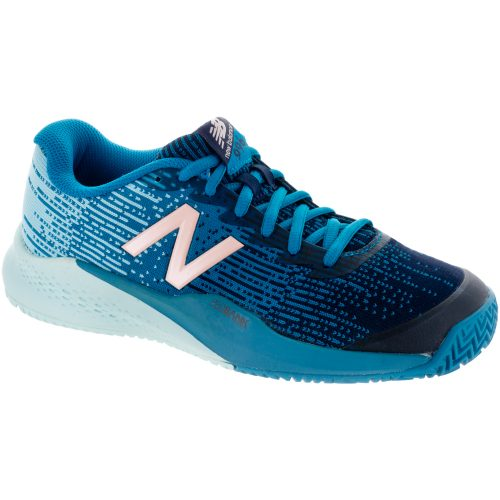 New Balance 996v3 Clay: New Balance Women's Tennis Shoes Deep Ozone Blue/Ozone Blue
