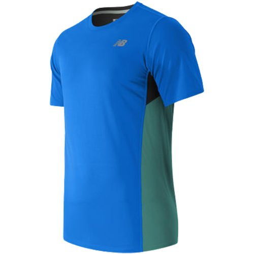 New Balance Accelerate Short Sleeve Tee Spring 2017: New Balance Men's Running Apparel