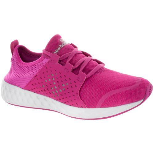 New Balance Cruz v1 Junior Pink/Pink: New Balance Junior Running Shoes