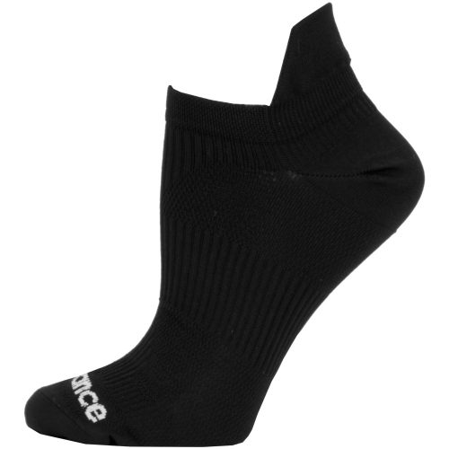 New Balance Flat Knit No Show Tab Socks: New Balance Socks