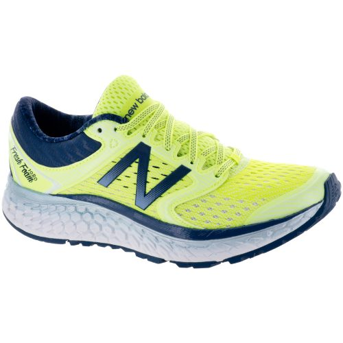 New Balance Fresh Foam 1080v7: New Balance Women's Running Shoes Bleached Lime Glo/Vintage Indig
