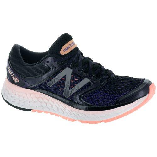 New Balance Fresh Foam 1080v7: New Balance Women's Running Shoes Deep Violet/Sunrise