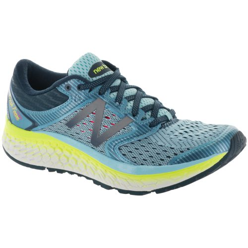 New Balance Fresh Foam 1080v7: New Balance Women's Running Shoes Ozone Blue Glo/Lime Glo