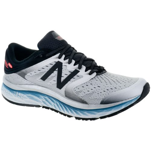 New Balance Fresh Foam 1080v8: New Balance Men's Running Shoes White/Black/North Sea