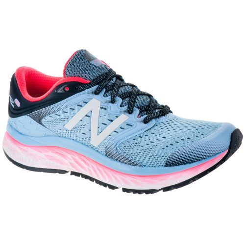 New Balance Fresh Foam 1080v8: New Balance Women's Running Shoes Clear Sky/Vivid Coral/Black