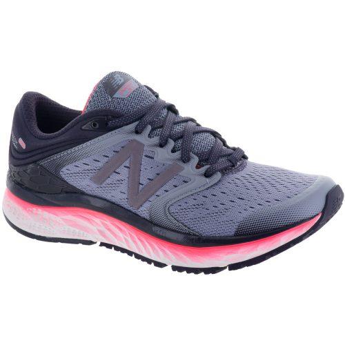 New Balance Fresh Foam 1080v8: New Balance Women's Running Shoes Elderberry/Vivid Coral/Daybreak