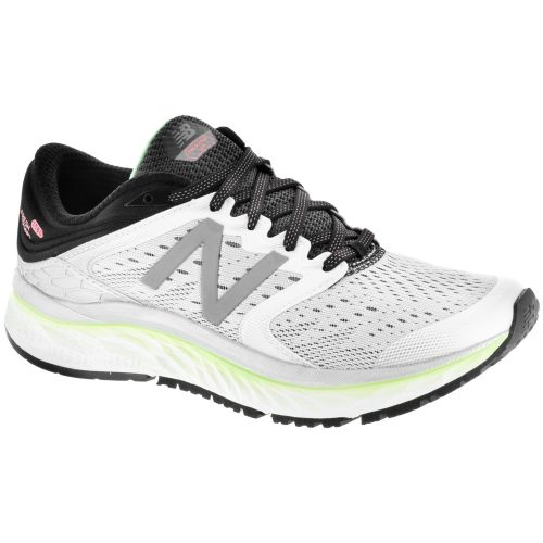 New Balance Fresh Foam 1080v8: New Balance Women's Running Shoes White/Blue/Black/Silver