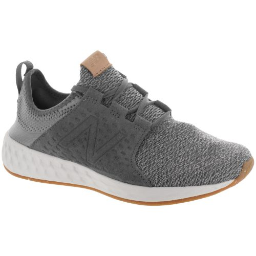 New Balance Fresh Foam Cruz v1: New Balance Men's Running Shoes Castlerock/Sea Salt/Gum Rubber
