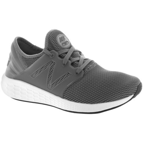 New Balance Fresh Foam Cruz v2: New Balance Men's Running Shoes Gunmetal/White