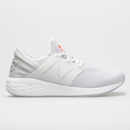 New Balance Fresh Foam Cruz v2: New Balance Men's Running Shoes White/Silver Mink